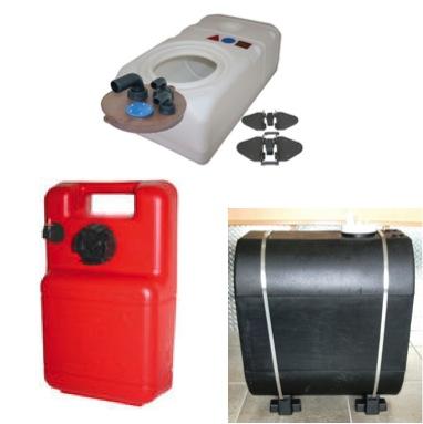 Tanks: Water-Waste-Fuel