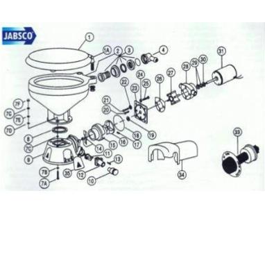 Spare Parts - Jabsco